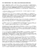 PBS Frontline/World - Peru - Yanacocha Mine - Complete Lesson Plan