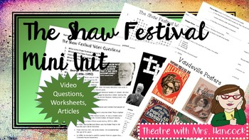 PBS The Shaw Festival: Behind the Curtain Video Questions