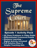 PBS The Supreme Court Episode 1 Worksheet and Puzzle Activity Pack