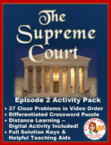 PBS The Supreme Court Episode 2 Worksheet and Puzzle Activity Pack