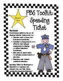 PBS Toolkit speeding ticket