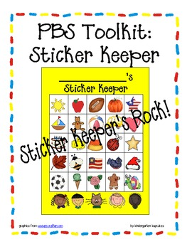 PBS Toolkit sticker keeper