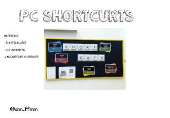 PC SHORTCUTS in Spanish&English