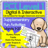 PCI 1 Reading Extended Digital Interactive Activities 1-20