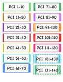 PCI Level 1 Flashcards