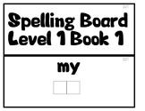 PCI Level 1 Spelling Boards Books 1-5