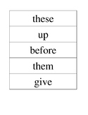 PCI Level 1 Vocab - COMPLETE SET with Lamp Sequences - Words for Life - AAC
