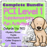 PCI Reading Bundle Level 1 Extended Fun Activities (1-140)