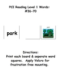 PCI level 1 words:  Activity Boards for 36 thru 70 (ESE)