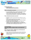 PD Handout: Individualized Instruction strategies