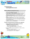 PD Handout: Learning Environments to explore Ramps