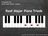 PDF = Major Root Triads (21x - some enharmonic) (piano cha