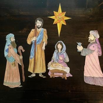 PDF DIY Nativity Set - Full Version