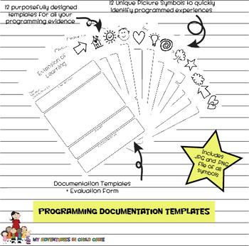 PDF EYLF / Early Years Learning Framework Programming Templates