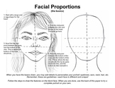 PDF Facial Proportions Drawing Guide How-to