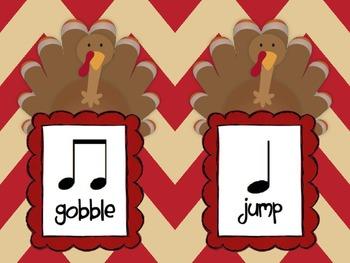 PDF: Five Fat Turkeys & Rhythms for the Kodaly or Orff Classroom