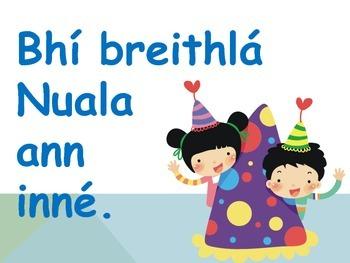 Gaeilge (PDF) Special Occasion/Ócáidí Speisialta - Lá Breithe / Breithlá