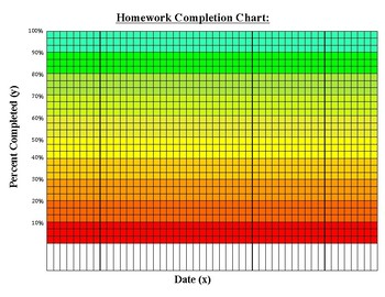 PDF Homework Completion Chart