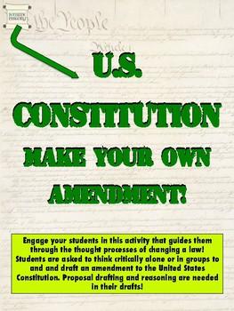 PDF - Make Your Own Amendment Questionnaire