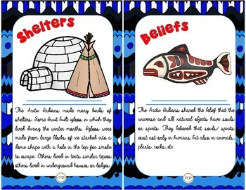 PDF The Native Americans of the Arctic Set/ Package for Interactive Notebook
