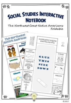 PDF Social Studies Interactive NB The Native Americans of the Northwest Foldable