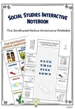 PDF Native American Foldable - People of the Southwest 8 L