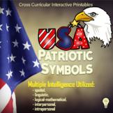 US Symbols - USA Patriotic Symbols Cross Curricular Printa
