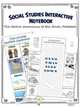 PDF Social Studies Interactive NB The Native Americans of the Arctic Foldable