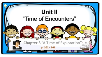 PPT Social Studies US History Chapter 3 A Time of Exploration Presentation