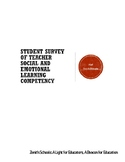 PDF: Student Survey of Teacher Social and Emotional Learning Competency