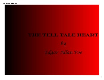"Presentation: Symbolism, Irony, Theme & Mood in ""The Tell Tale Heart"" (PDF)"