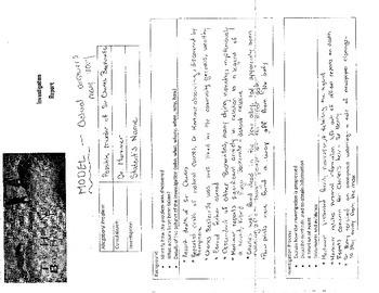 PDF- The Hound of the Baskervilles Investigation Report--MODEL