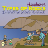 PDF Types of Rocks Handouts for Interactive Science Notebooks