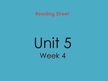 PDF Version of Reading Street Unit 5 Week 4