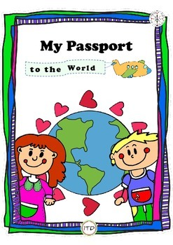 PDF World Citizen Passport Printable (A5 size)