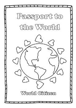 pdf world citizen passport printable a5 size