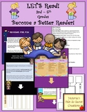 """PDF and POWERPOINT """"Let's Get Reading!"""" Reading Strategies, Tips, Motivation"""