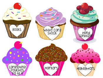 PDF of back to school night donation cupcakes