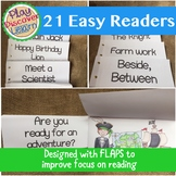 Easy Readers (Large Print with Flap Covered Pictures)