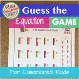 PDL's Guess the Equation Game for Cuisenaire® Rods