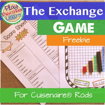 PDL's The Exchange Game A Game of Mathematical Notation For Cuisenaire Rods