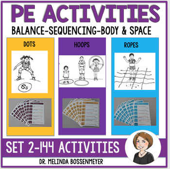 PE Activities Set 2: Dots, Hoops and Ropes