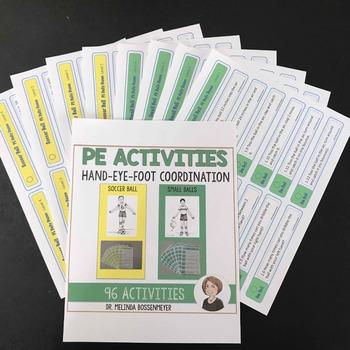 PE Activities Set 4: Soccer balls and small balls