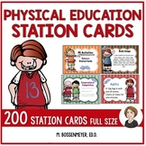 PE Activities Station Cards (200)