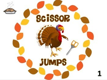 """PE Activities: """"What's on Your Plate""""- Thanksgiving Fitness Edition"""