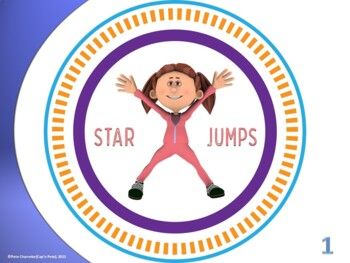 "PE  Activities:  ""What's on Your Plate""- Fitness (Set 1)"