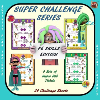 PE Activity: Super Challenge Series- PE Skills Edition