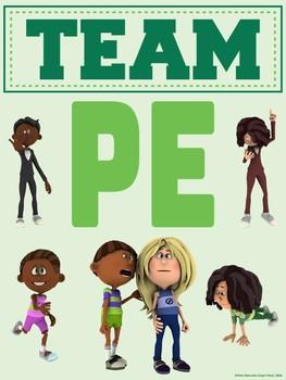 PE Advocacy Poster: TEAM PE