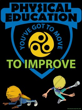 PE Advocacy Poster: You've Got to Move to Improve