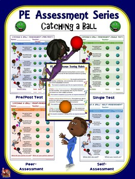 PE Assessment Series: Catching a Ball- 4 Versions